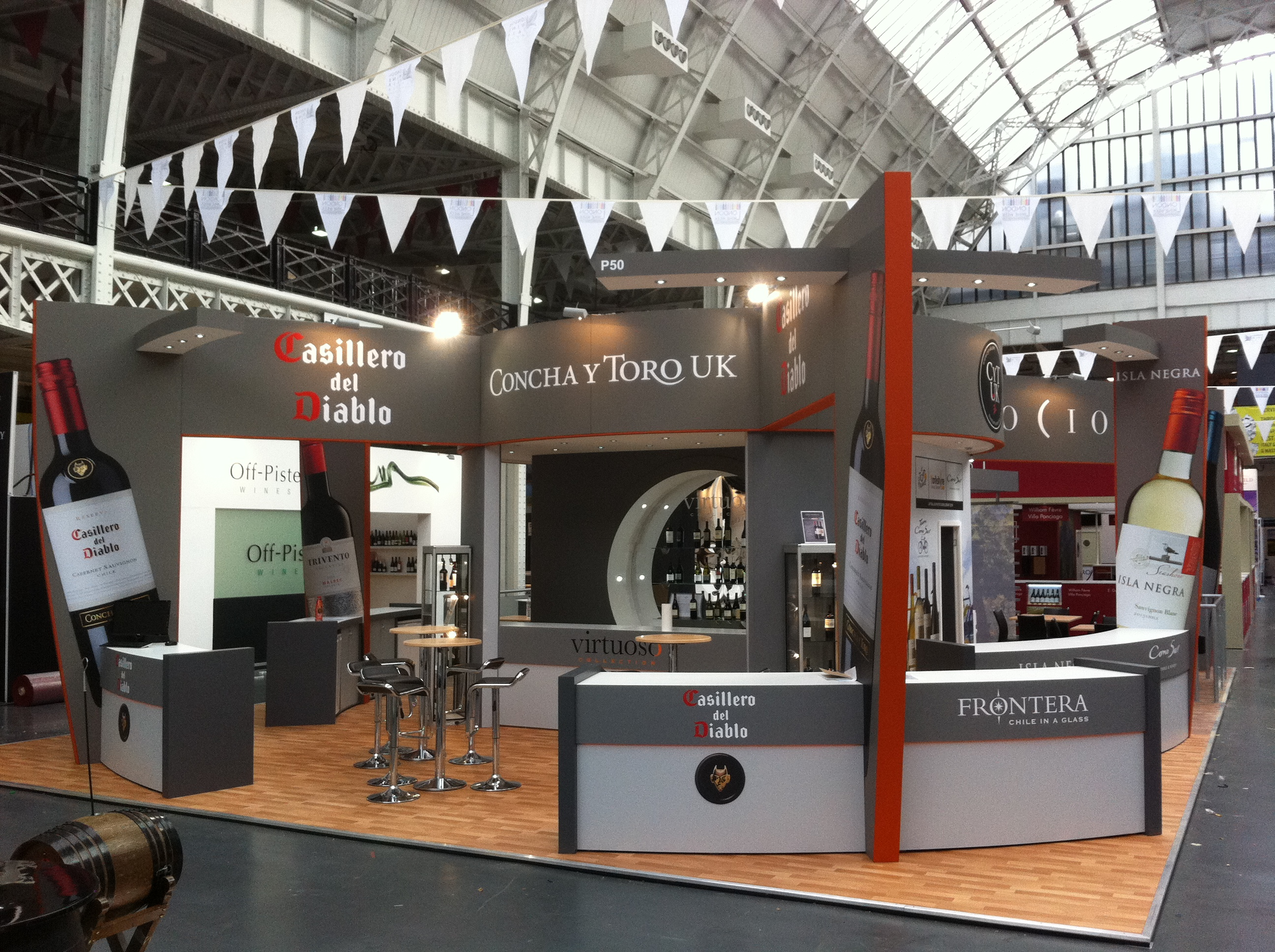 Choosing the right size exhibition stand for you